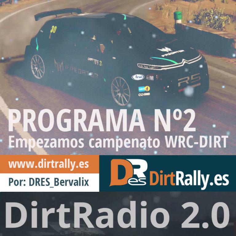 podcast dirt radio 2.0 arrancamos la segunda temporada del WRC-DIRT