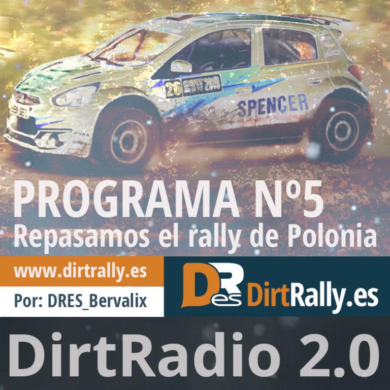 podcast dirt radio 2.0, repasamos toda la actualidad del rally de Polonia del WRC-DIRT