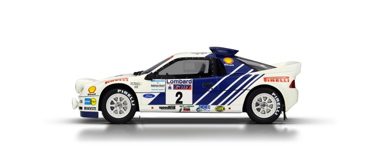 Ford RS 200 dirt rally