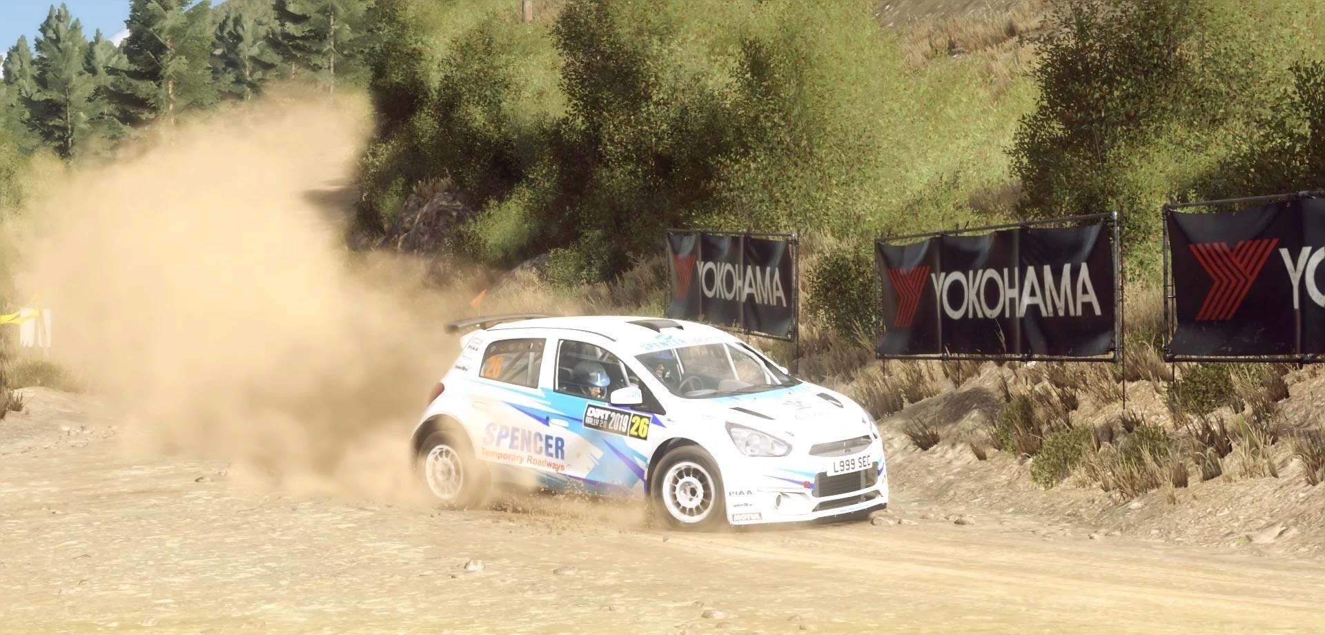 tercera temporada de la liga WRC-DIRT 2019 con Dirt Rally 2.0