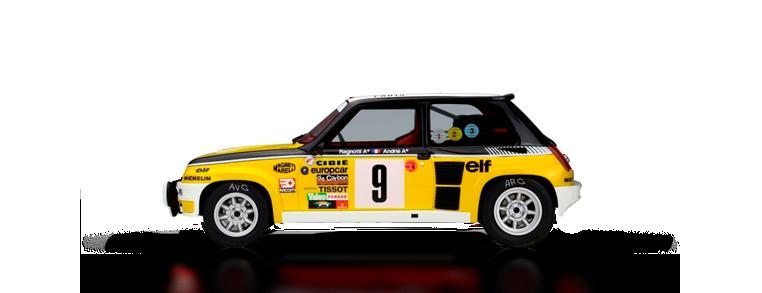 Renault 5 turbo dirt rally