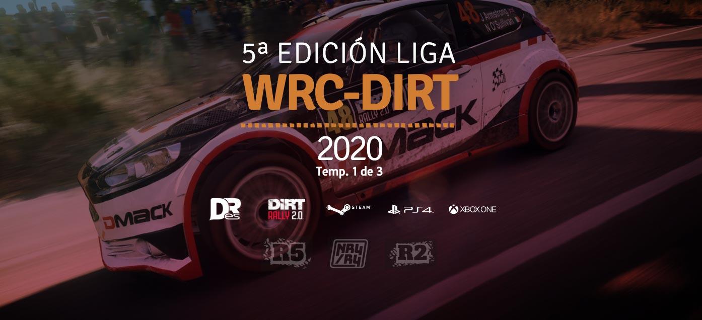 5ª Edición Liga WRC-DIRT temporada 1 2020